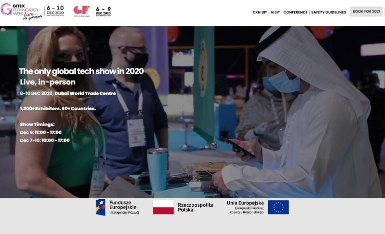 EBIS na konferencji Gitex Technology Week w Dubaju