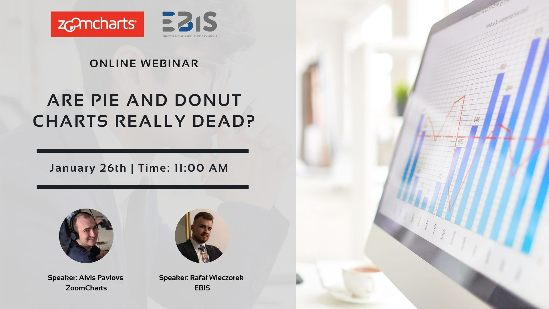 Are Pie and Donut charts really dead? - webinar